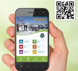Mobilní aplikace - prùvodce po Krkonoších
